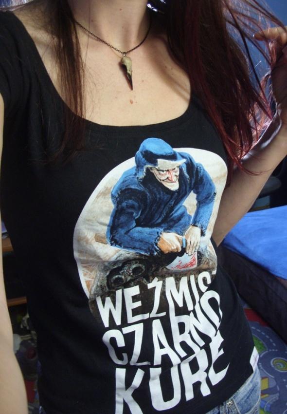 Koszulka Vestarius Weźmisz Czarno Kure Jakub Wędrowycz