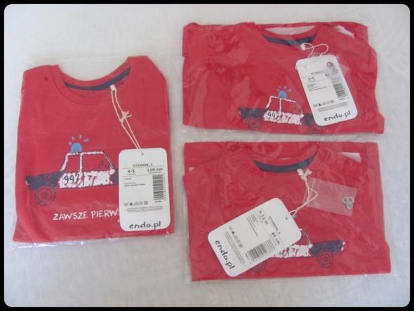 ENDO Koszulka chłopięca NOWA z metkami rozmiar 104 80 i 110