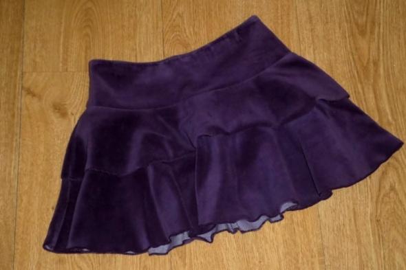 rozm 110 116 COOL CLUB spódniczka elegancka AKSAMIT