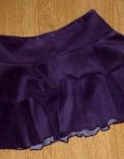 rozm 110 116 COOL CLUB spódniczka elegancka AKSAMIT...