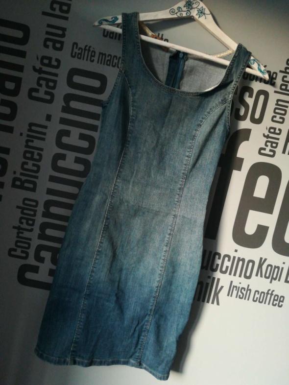 Jeansowa sukienka rozm XS