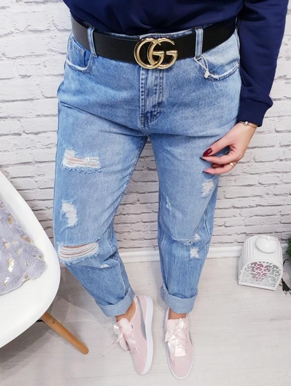 Spodnie boyfriend denim jeans Special