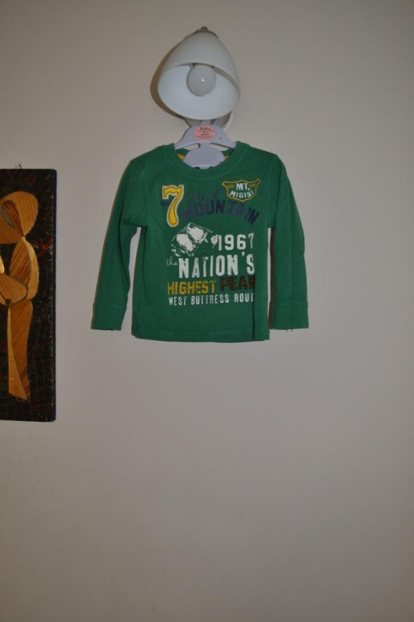 George Zielona bluzeczka 86cm 92cm 2 3 lata