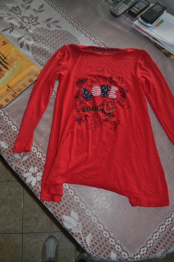 Tu bluzeczka tuniczka 122 cm 128 cm 7 8 lat