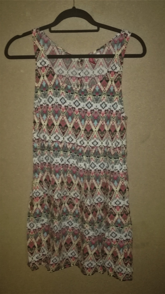 H&M Boho hippie aztec letnia sukienka 36