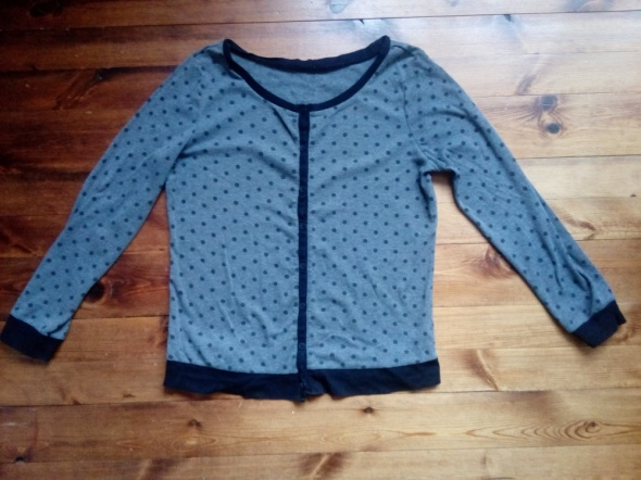 Bluza w kropki XL