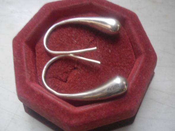 Srebrne kolczyki łezki 6 gramów