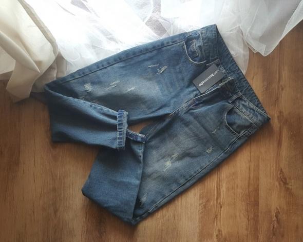 Nowe jeansy ZAFUL powycierane