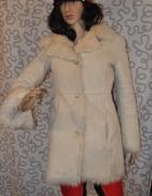 Kożuch płaszcz kurtka S...