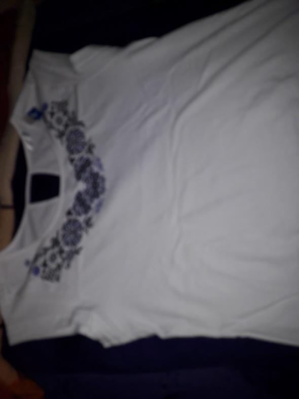 Bawełniana biała bluzeczka