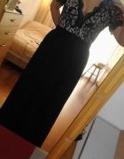 Piękna sukienka maxi z koronką...