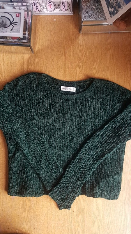 Sweter oversize Abercrombie&Fitch s...