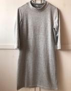 Sweterkowa sukienka M