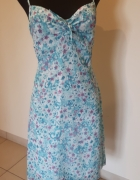 letnia sukienka floral łączka tiul...