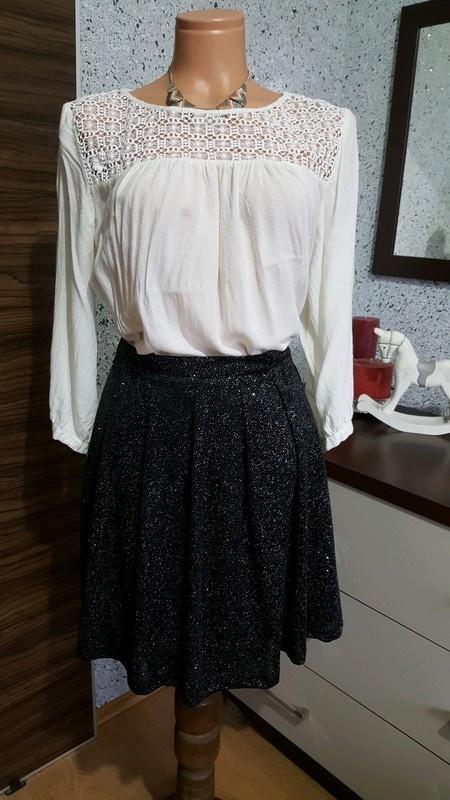 zestaw spódnica i bluzka