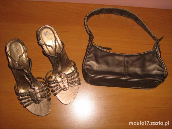 Buty sandały złote NEW LOOK roz 37