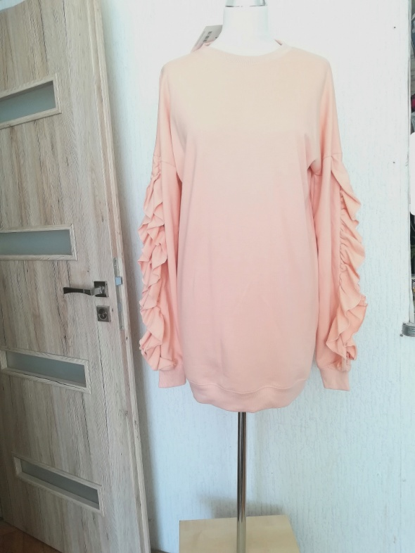 Sukienka bluza Missguided