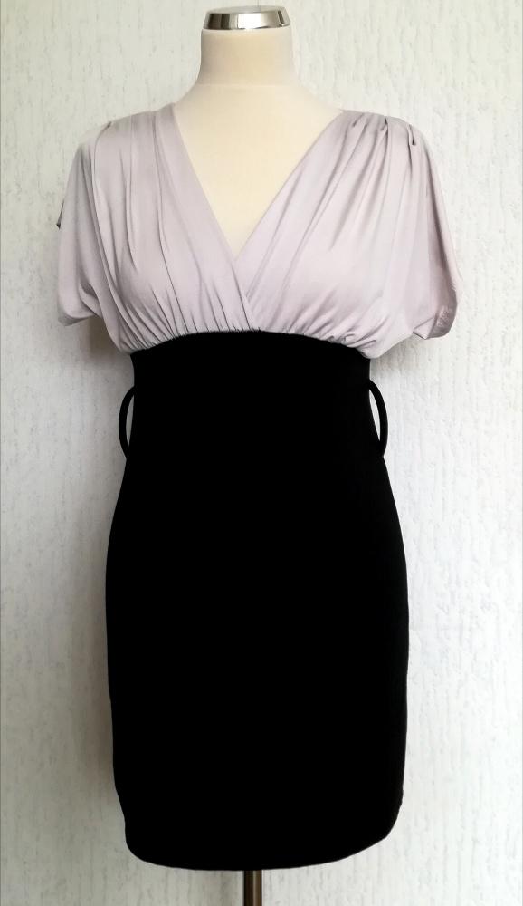 Włoska ołowkowowa sukienka