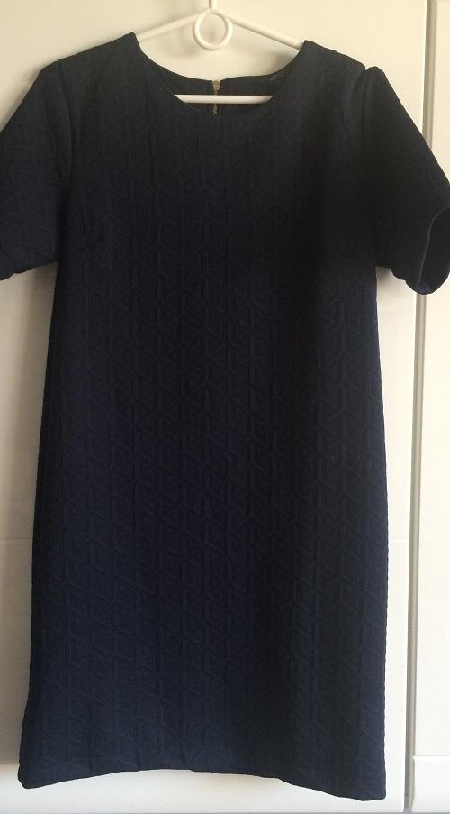Granatowa Sukienka 36 38 S M