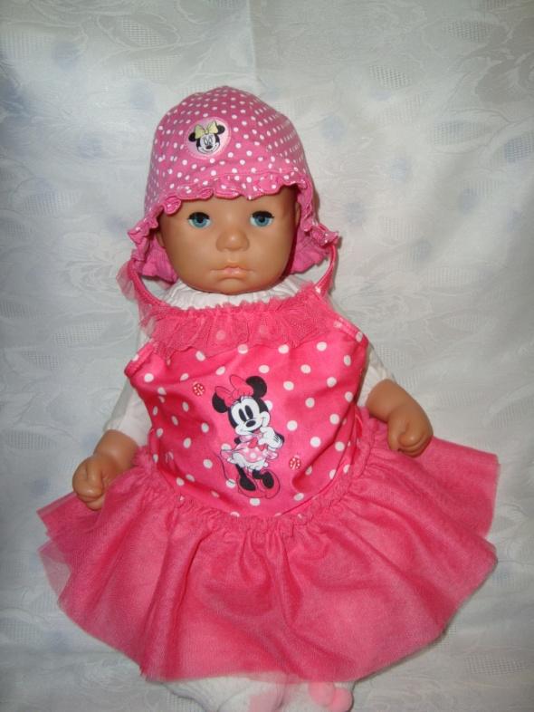 Disney różowy strój kąpielowy roz 6 9 msc