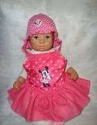 Disney różowy strój kąpielowy roz 6 9 msc...
