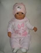Disney welurowy różowy pajac bez stóp roz newborn...