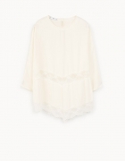 Biała koronkowa bluzka Mango XS nowa z metką...
