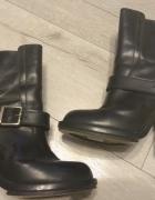 Chloe czarne botki r 38
