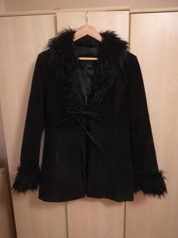 Płaszcz ze skóry Vero Moda...