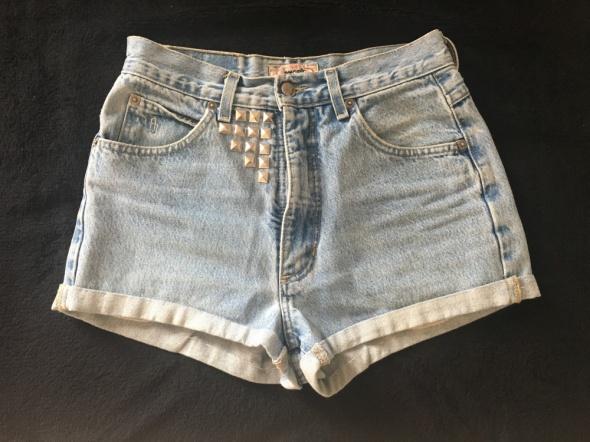 Spodenki z wysokim stanem jeans S 36