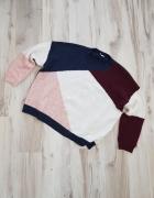 Luxny kolorowy sweter George L 40...