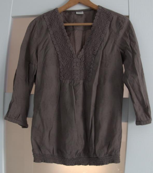 koszula bluzka esprit khaki...