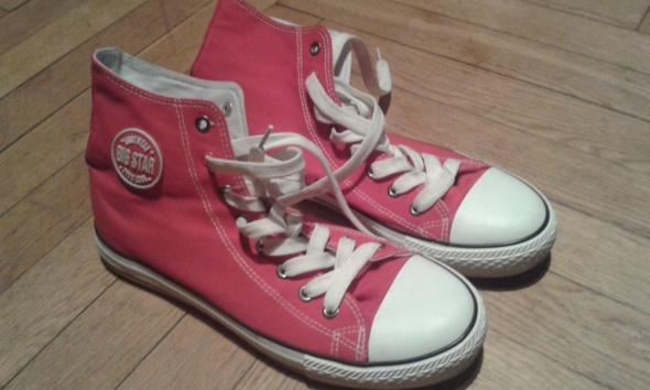 Czerwone trampki Big Star...