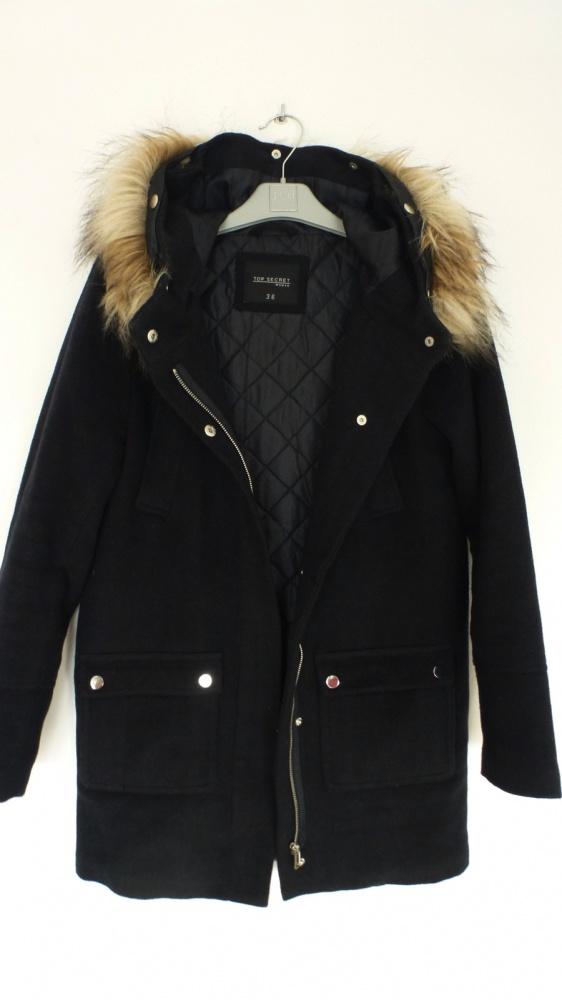 Modny płaszcz zimowy Top Secret 36