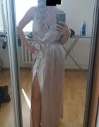 Długa piękna suknia New Look roz S