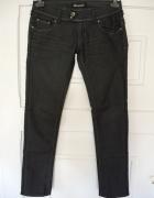 Jeansy dżinsy w kolorze granatowoszarym