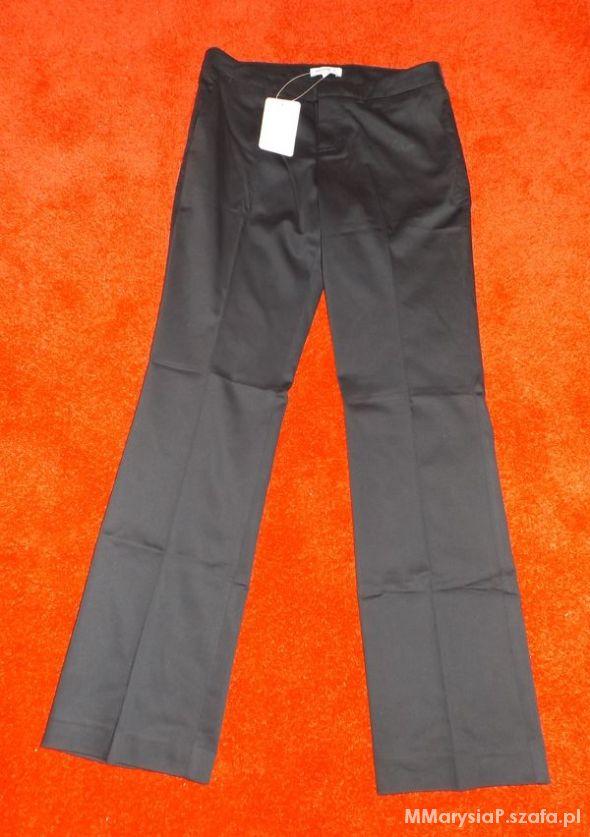 Nowe czarne spodnie Reserved 36...
