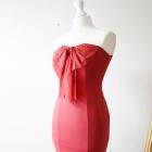 czerwona sukienka S