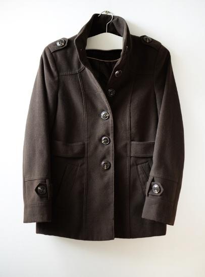 Odzież wierzchnia brązowy płaszczyk S