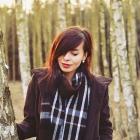 brązowy płaszczyk S