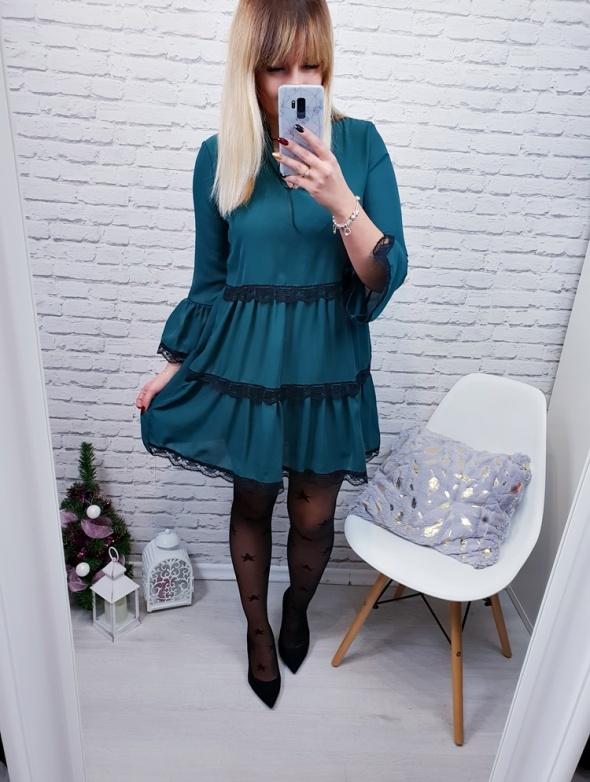 Sukienka falbany Marlen