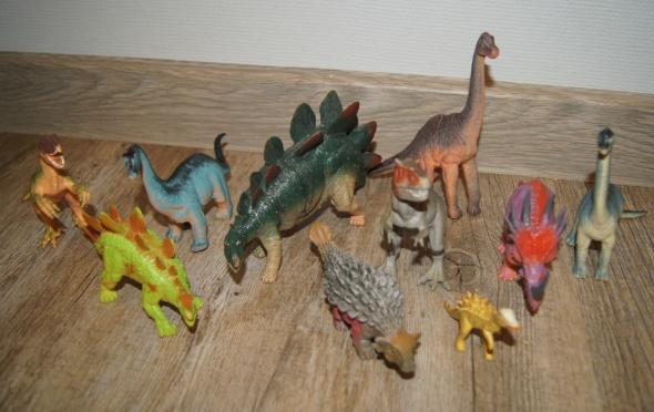Dinozaury figurki zestaw kolekcja 10 sztuk