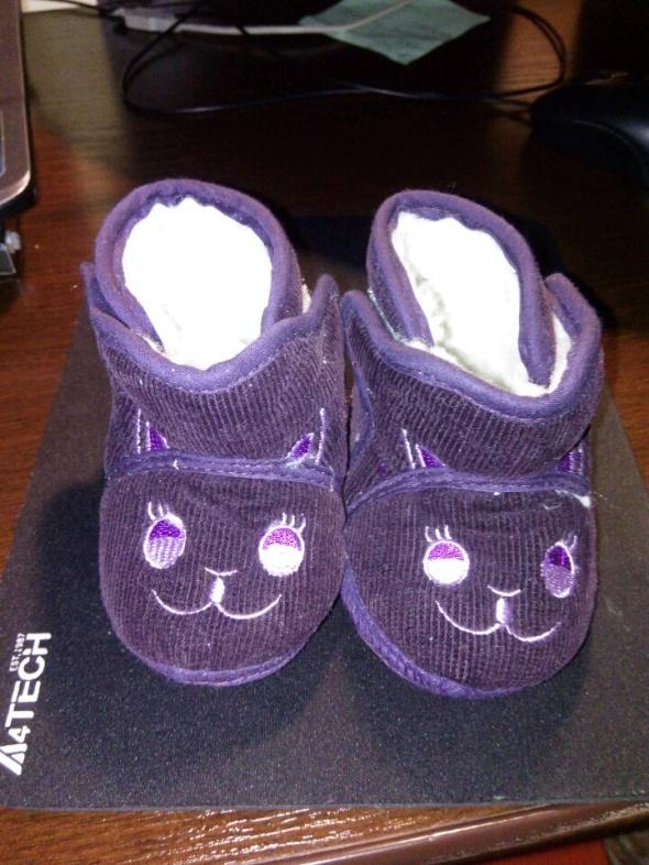 buciki niechodki dla niemowlaka