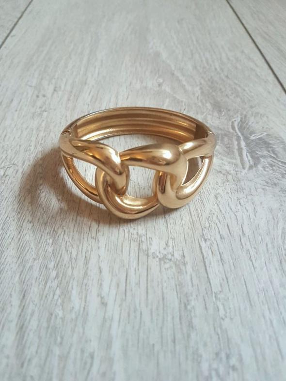 Claires złota bransoletka nowa