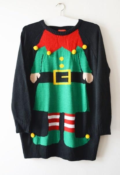 sweter elf L