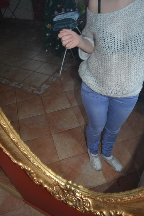 Rurki jeansy M L