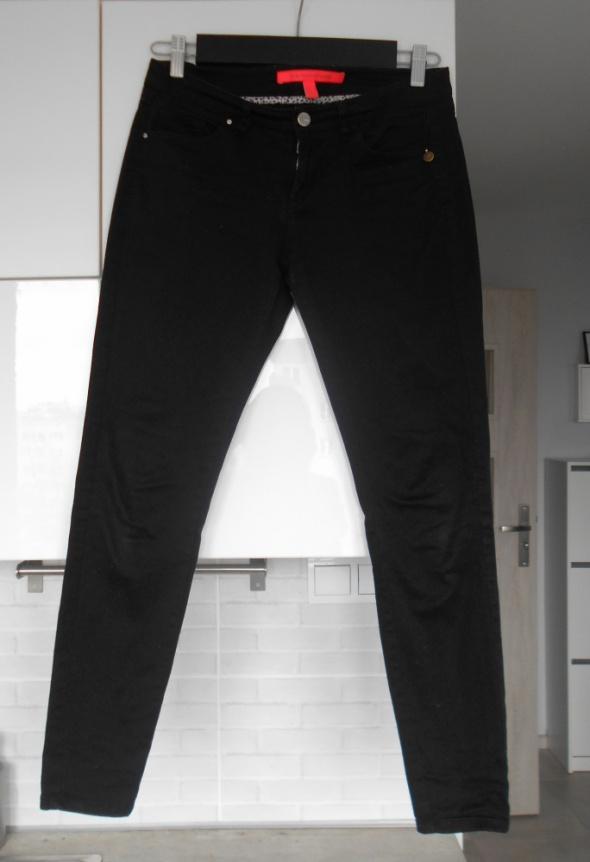 Mango czarne rurki spodnie jeansy klasyka minimal