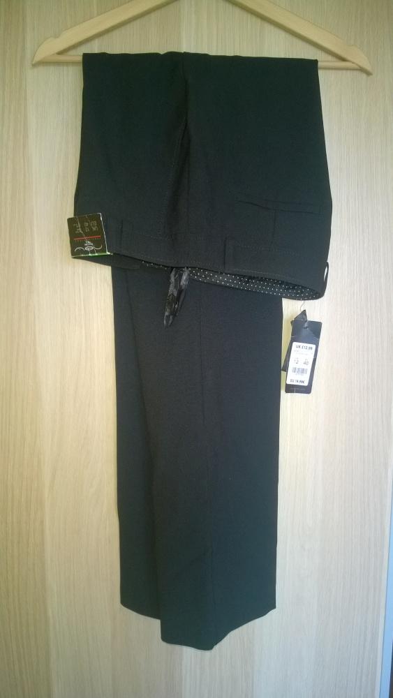 Nowe wizytowe spodnie w kant New Look