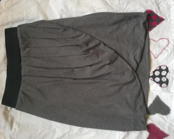 Spódniczka bawełniana szara dresowa Orsay