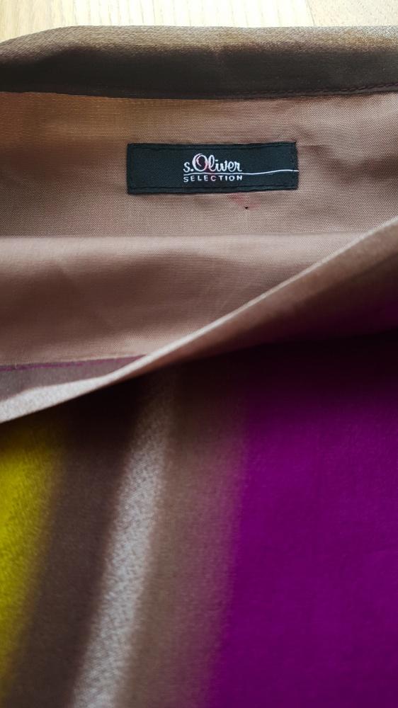 Jedwabna spódnica S Oliver 14 XL